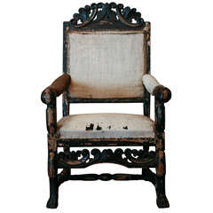 Swedish Hall Chair , C. 1840