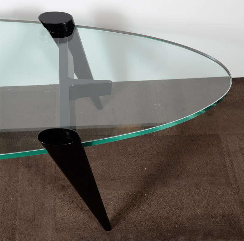 Mid Century Surfboard Coffee Table At 1stdibs: Mid-Century Modern Surfboard Coffee Table With Tapered