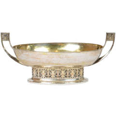 WMF Silver Plated Hammered Bowl