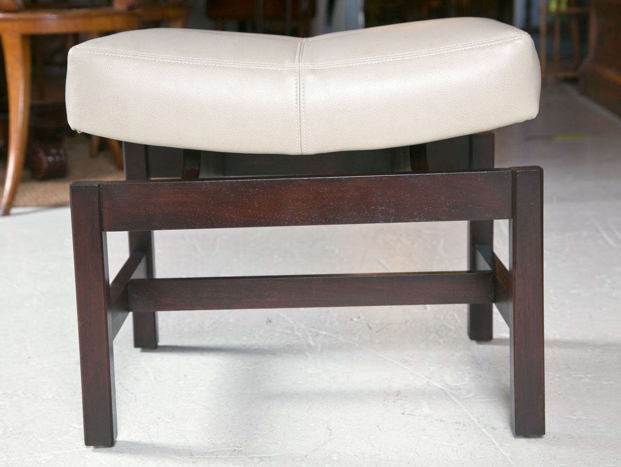 Jens risom floating bench for sale at 1stdibs - Jens Risom Floating Bench For Sale At 1stdibs Jens Risom Bench With Floating Saddle Seat