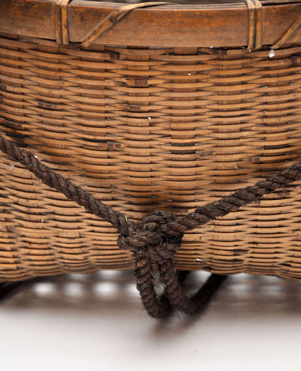 20th Century Japanese Fishing Basket For Sale 4