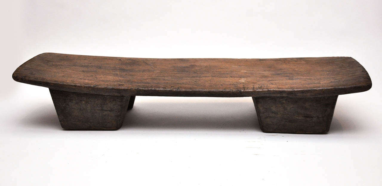Small Carved African Bench Stool At 1stdibs