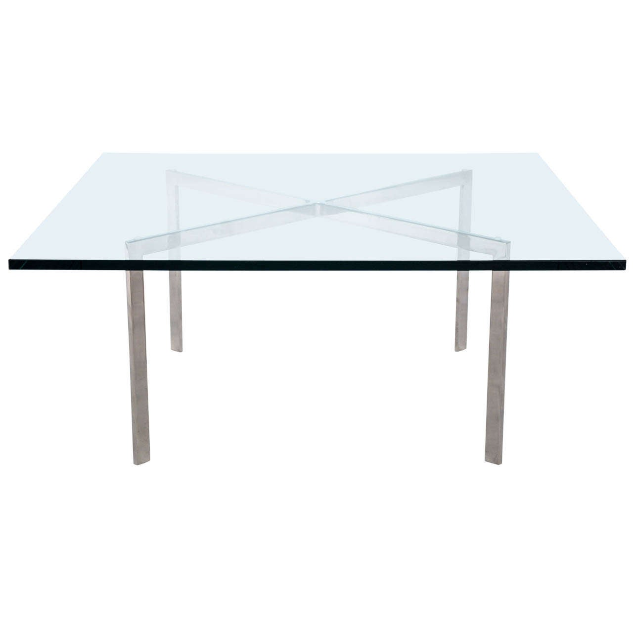 Delicieux Ludwig Mies Van Der Rohe Barcelona Table For Sale