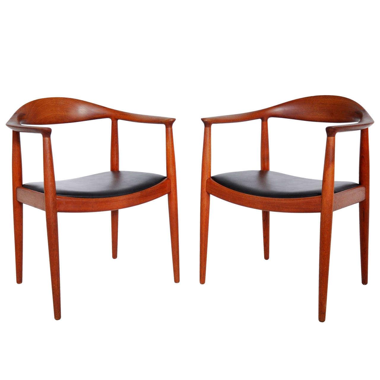 Chairs by Hans Wegner