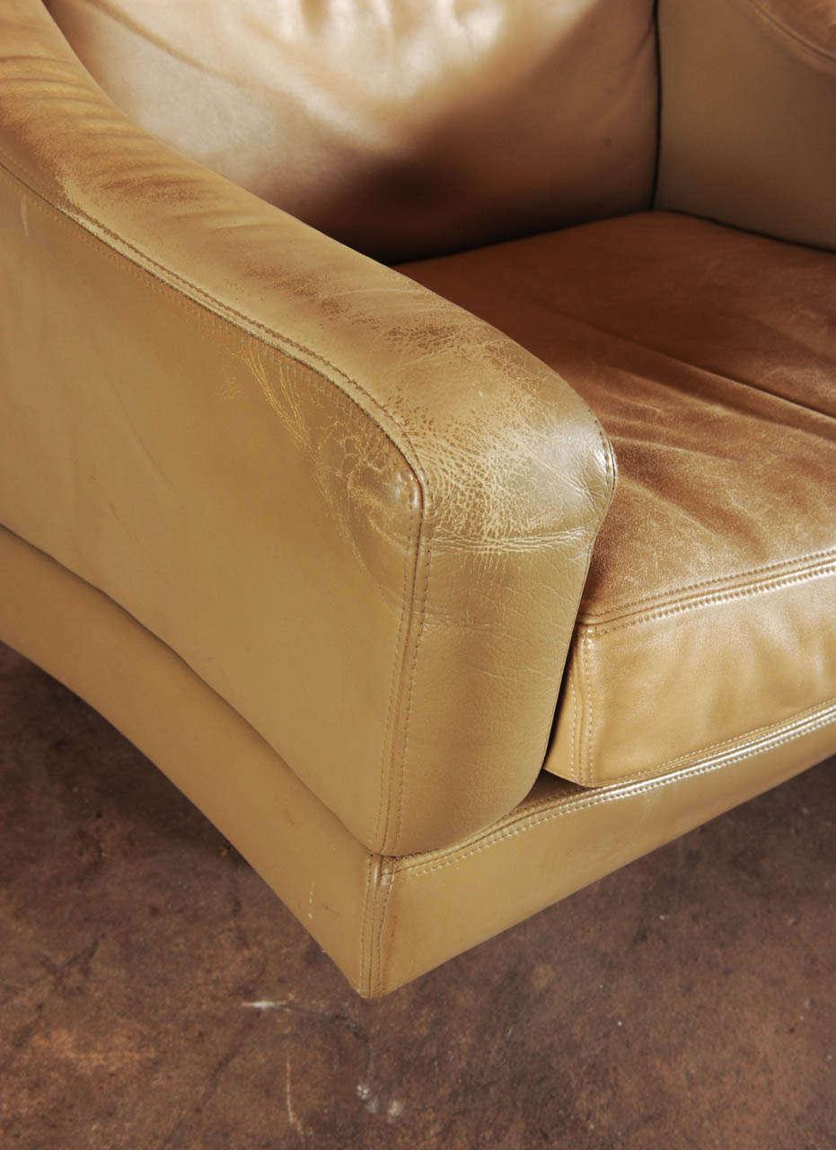 wonderful set of swiss made lounge chair hocker at 1stdibs. Black Bedroom Furniture Sets. Home Design Ideas