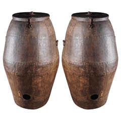 Archaic Indian Grain Vessels, circa 1900