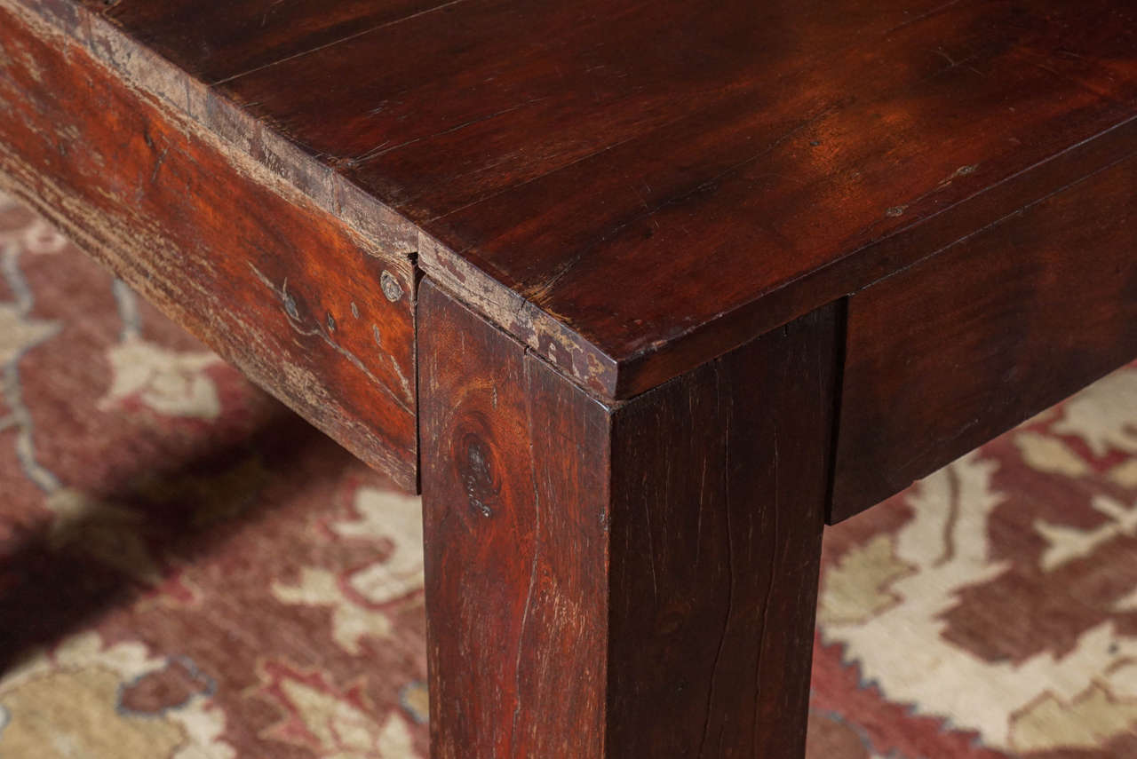 Sheesham Indian Rosewood Dining Table Ca 1950s At 1stdibs