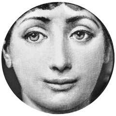 1960s Vintage Plate by Piero Fornasetti