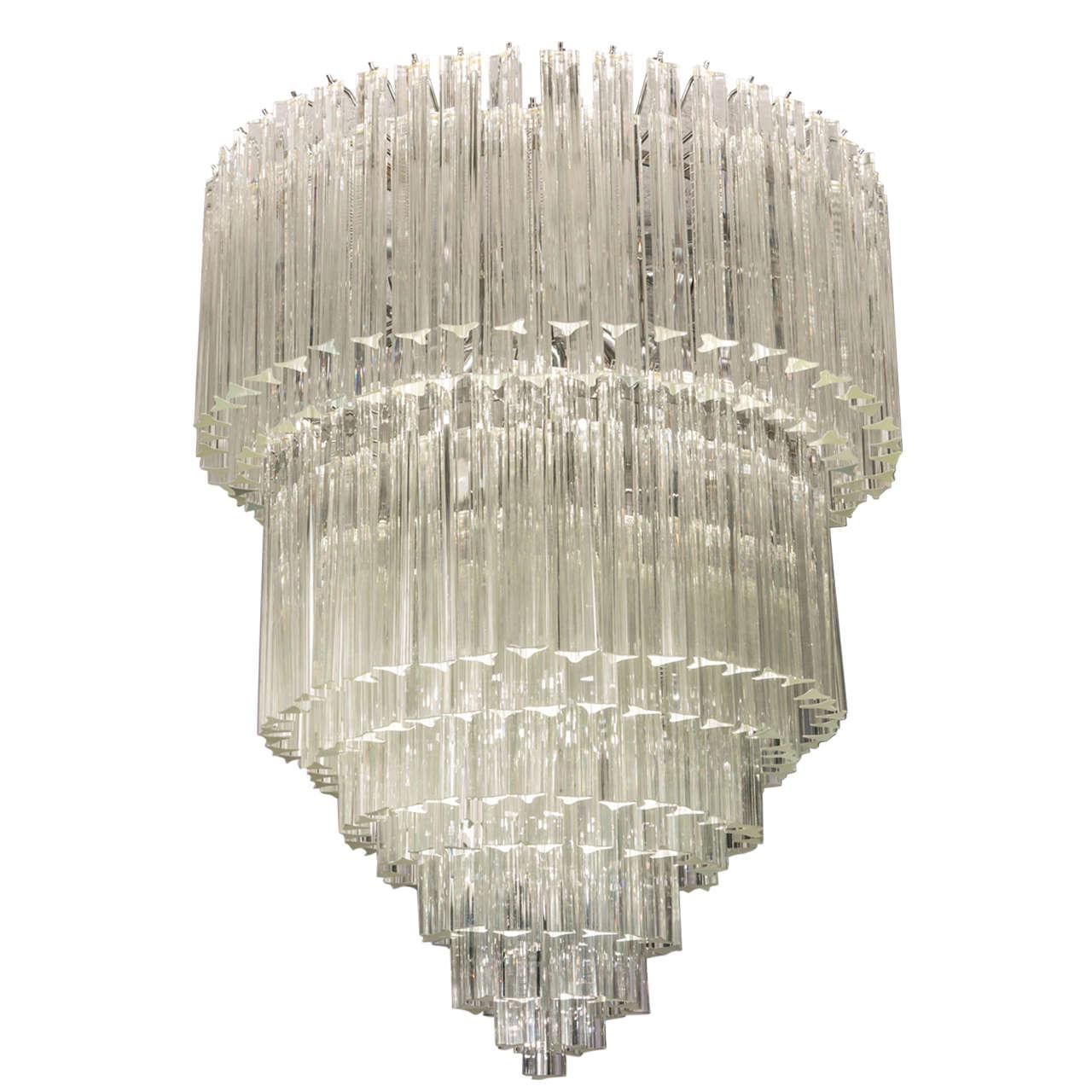 Murano venini chandelier at 1stdibs murano venini chandelier for sale aloadofball Image collections