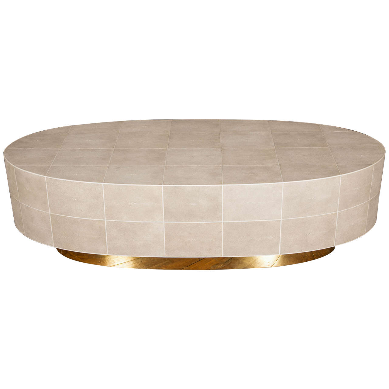 very chic shagreen coffee table at 1stdibs
