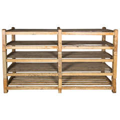 Oversized Wooden Deed Rack