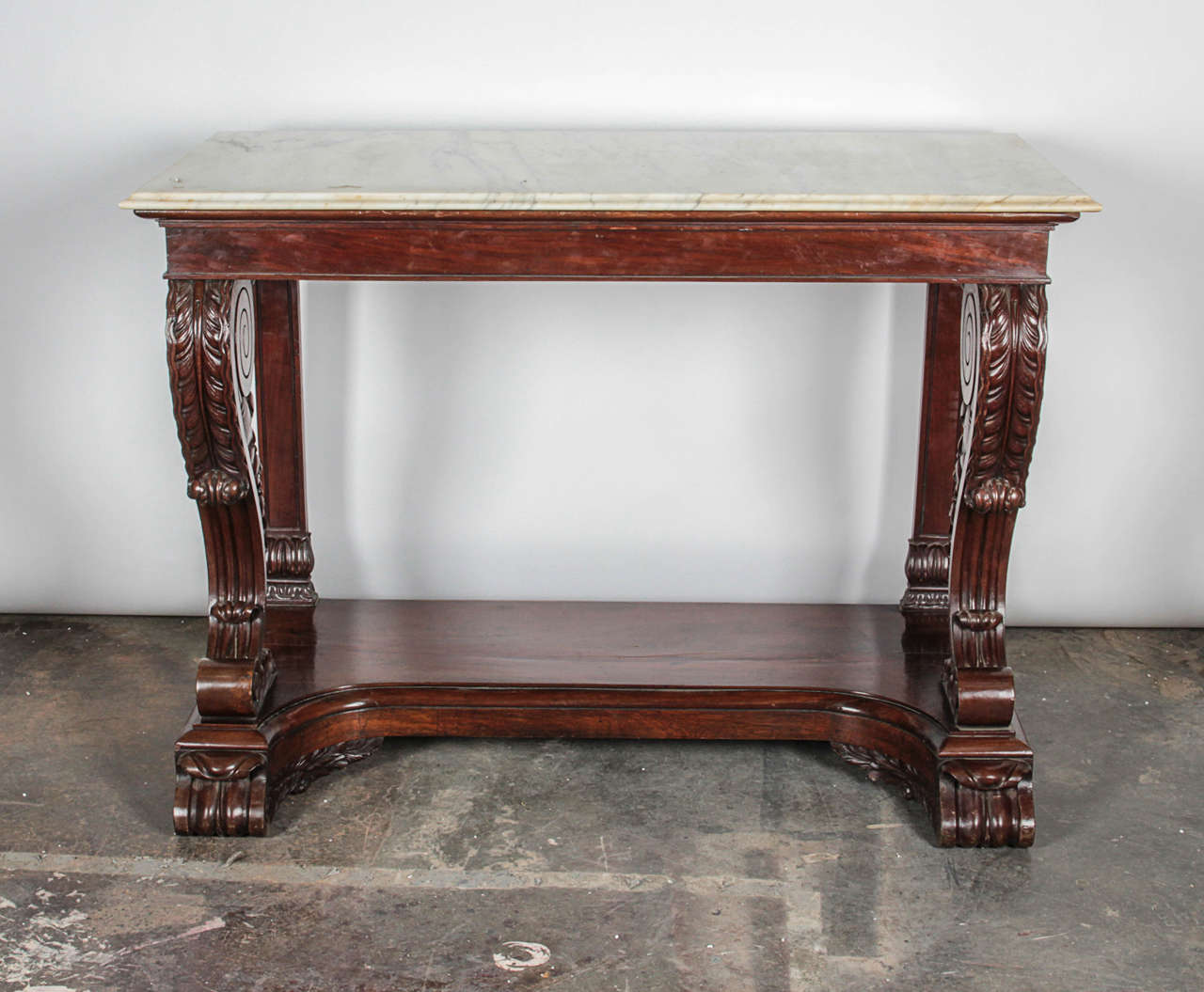 Regency Console Table For Sale at 1stdibs