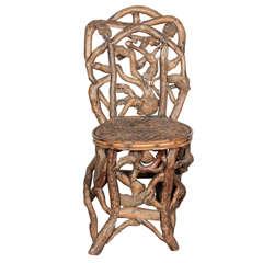 Artisan Driftwood Side Chair