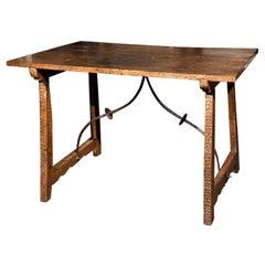 Spanish Walnut Tressle Table