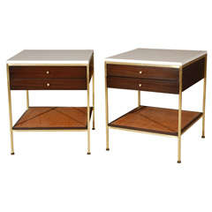 Pair Of Paul McCobb Night Stands