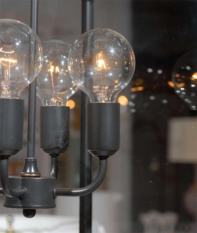 Contemporary Square Glass Pendant For Sale