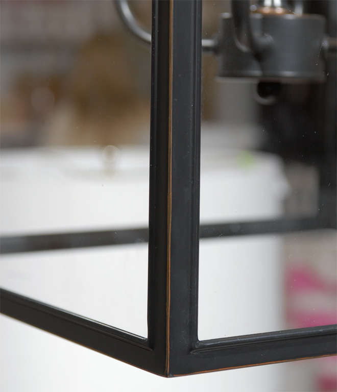 Square Glass Pendant For Sale 2
