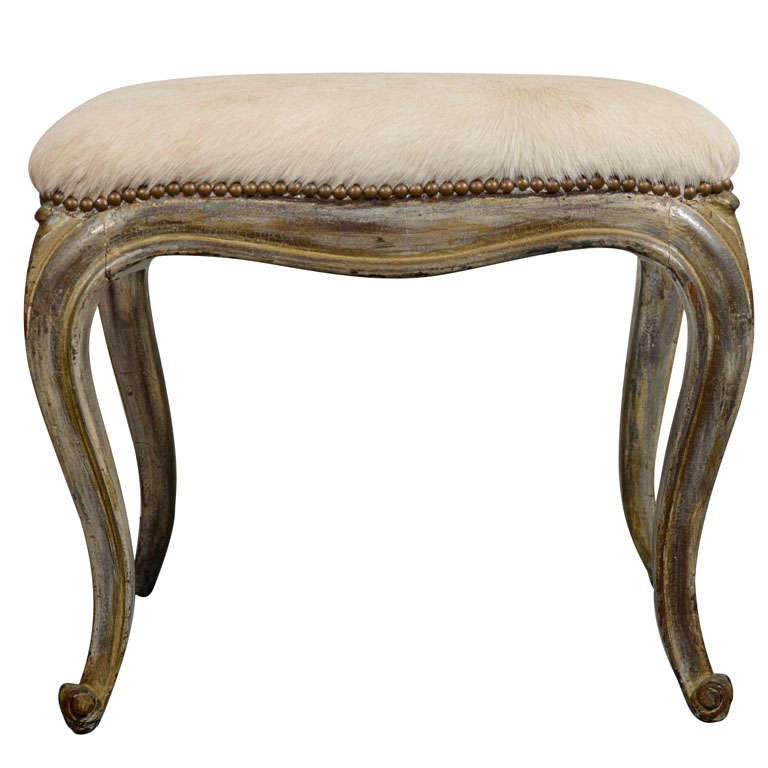 exquisite venetian style bench in hand carved wood and