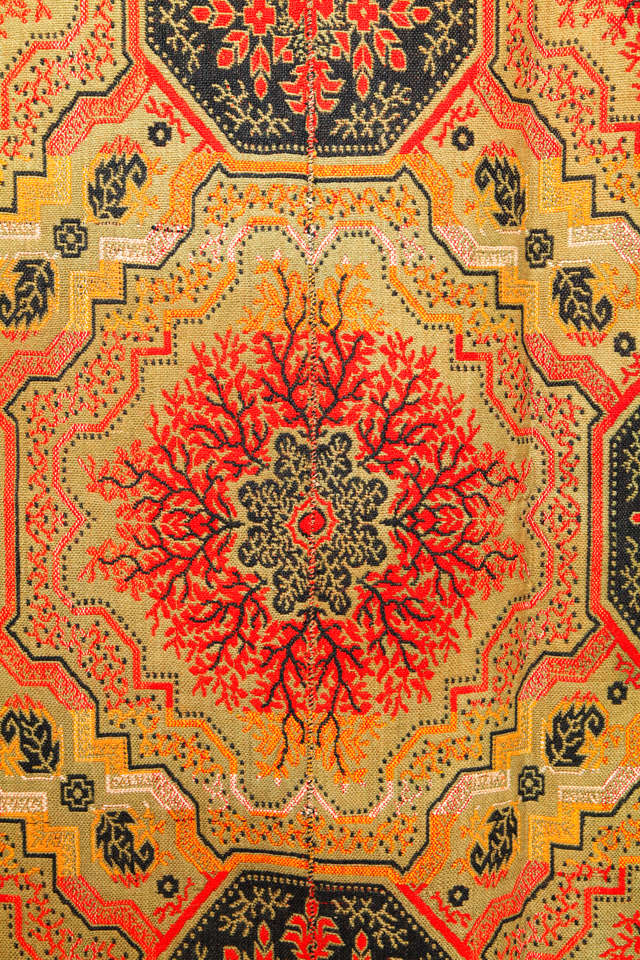 Early American Ingrain Carpet For Sale At 1stdibs