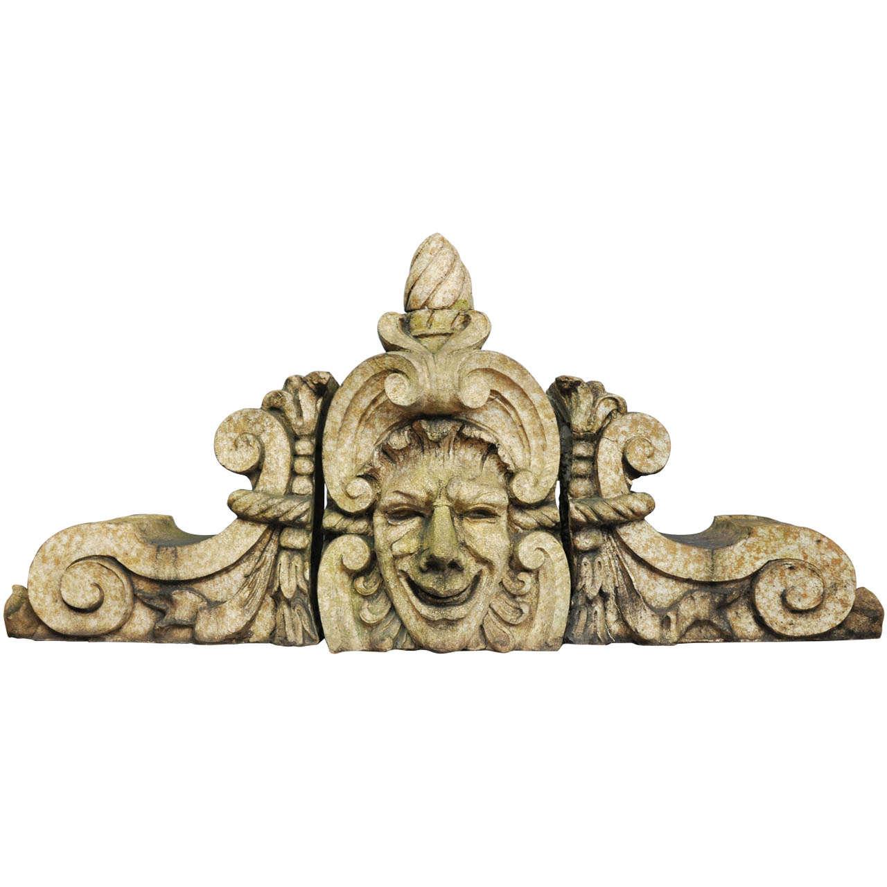 American Terracotta Building Ornament