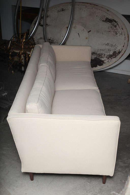 Mid Century Modern Paul Mccobb Tuxedo Sofa image 3