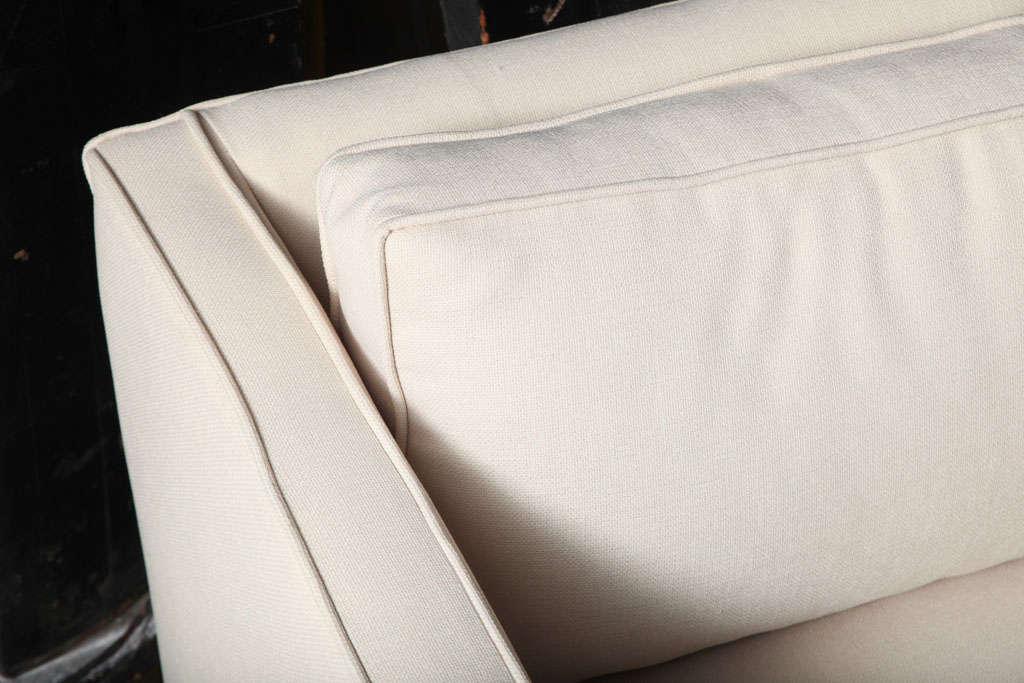 Mid Century Modern Paul Mccobb Tuxedo Sofa image 6