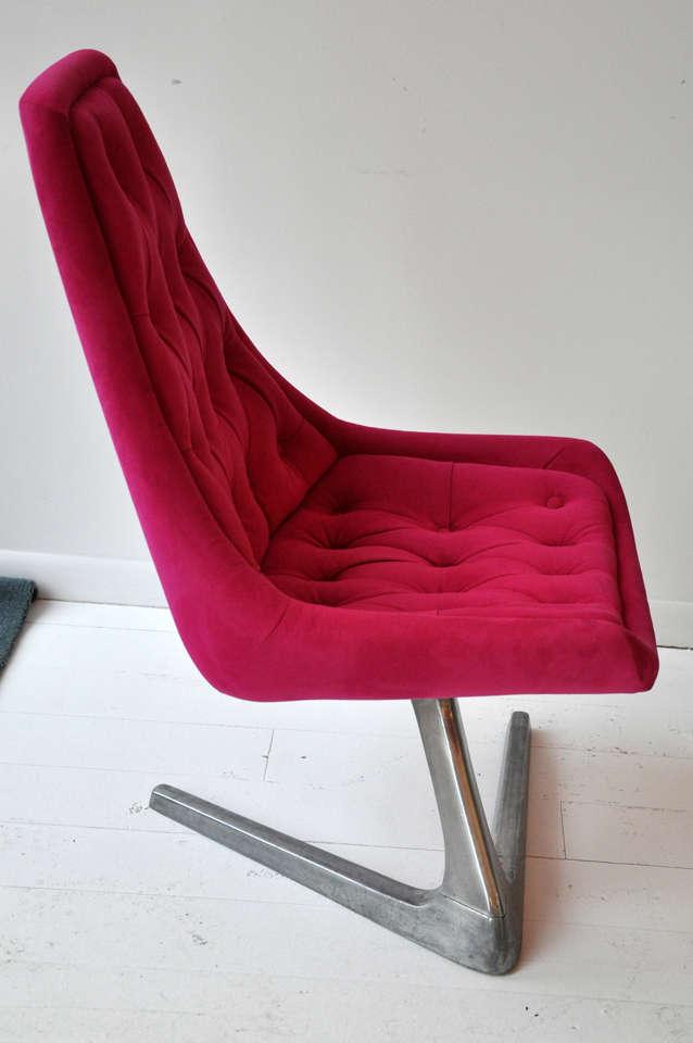 Pink Swivel Chair 6