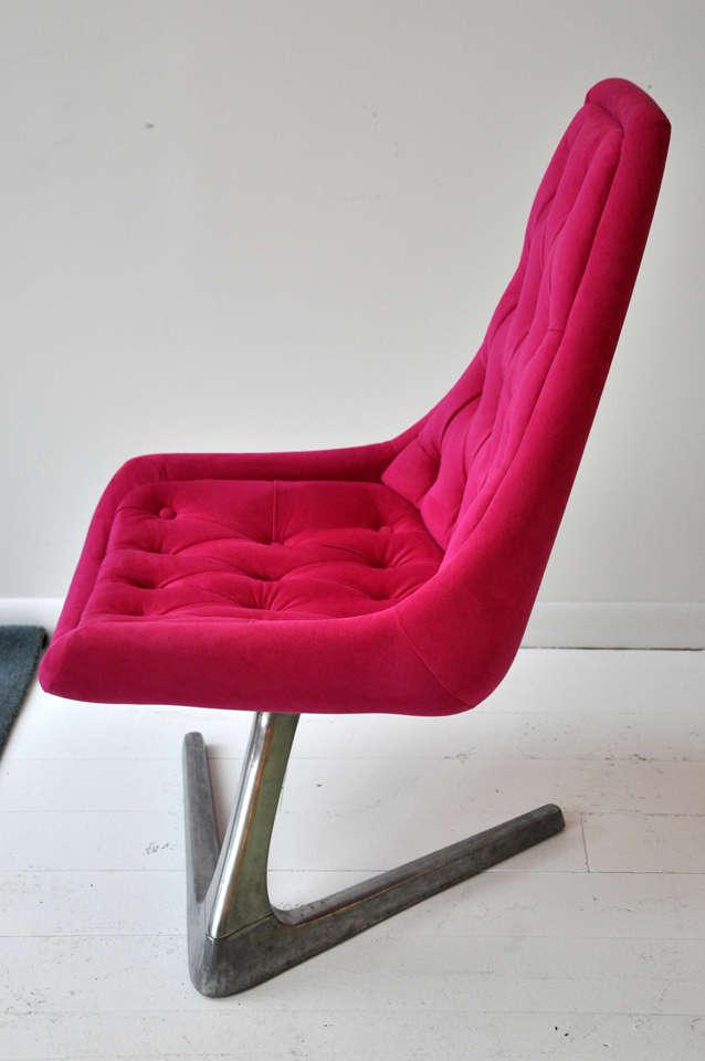 Pink Swivel Chair 7