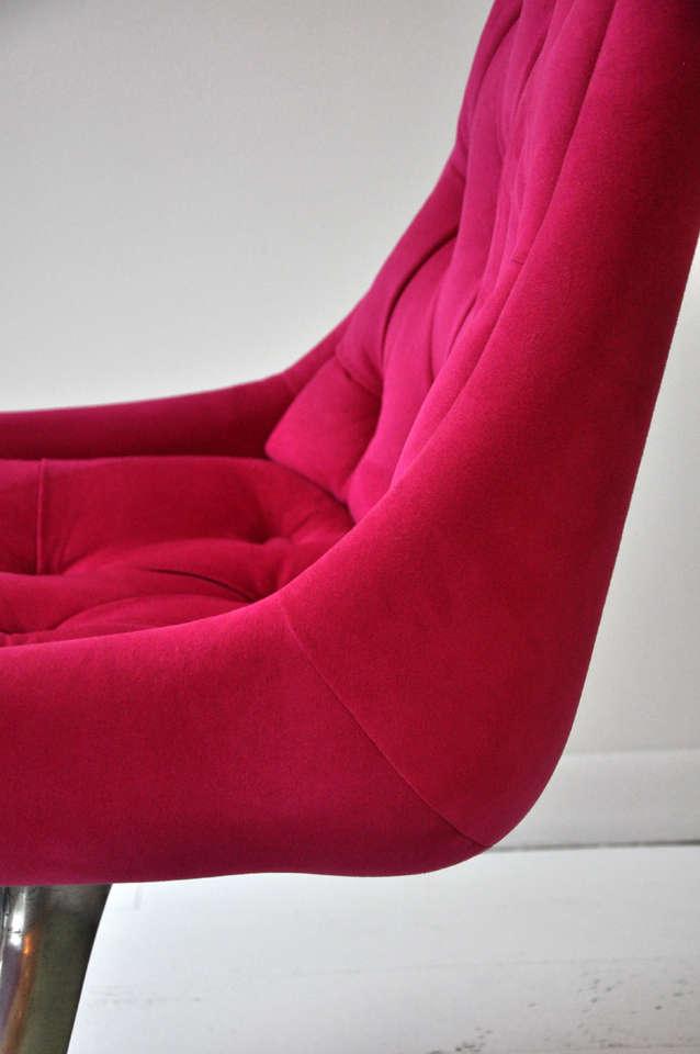 Pink Swivel Chair 9