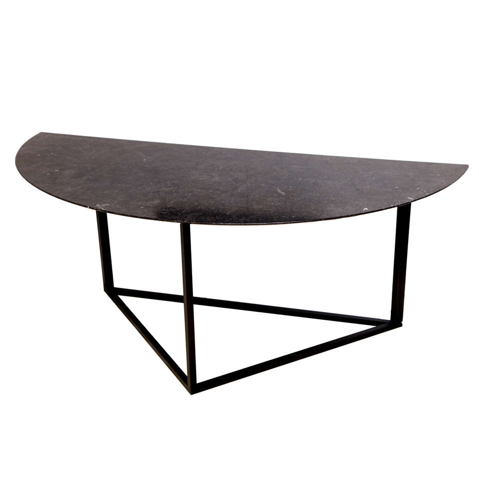 Lucca & Co, Made to Order, Demilune Table
