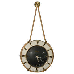 German Rope Wall Clock