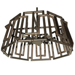 Paul Marra Trellis Chandelier in Oil Rubbed Bronze