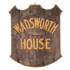 Wadsworth House  Sign