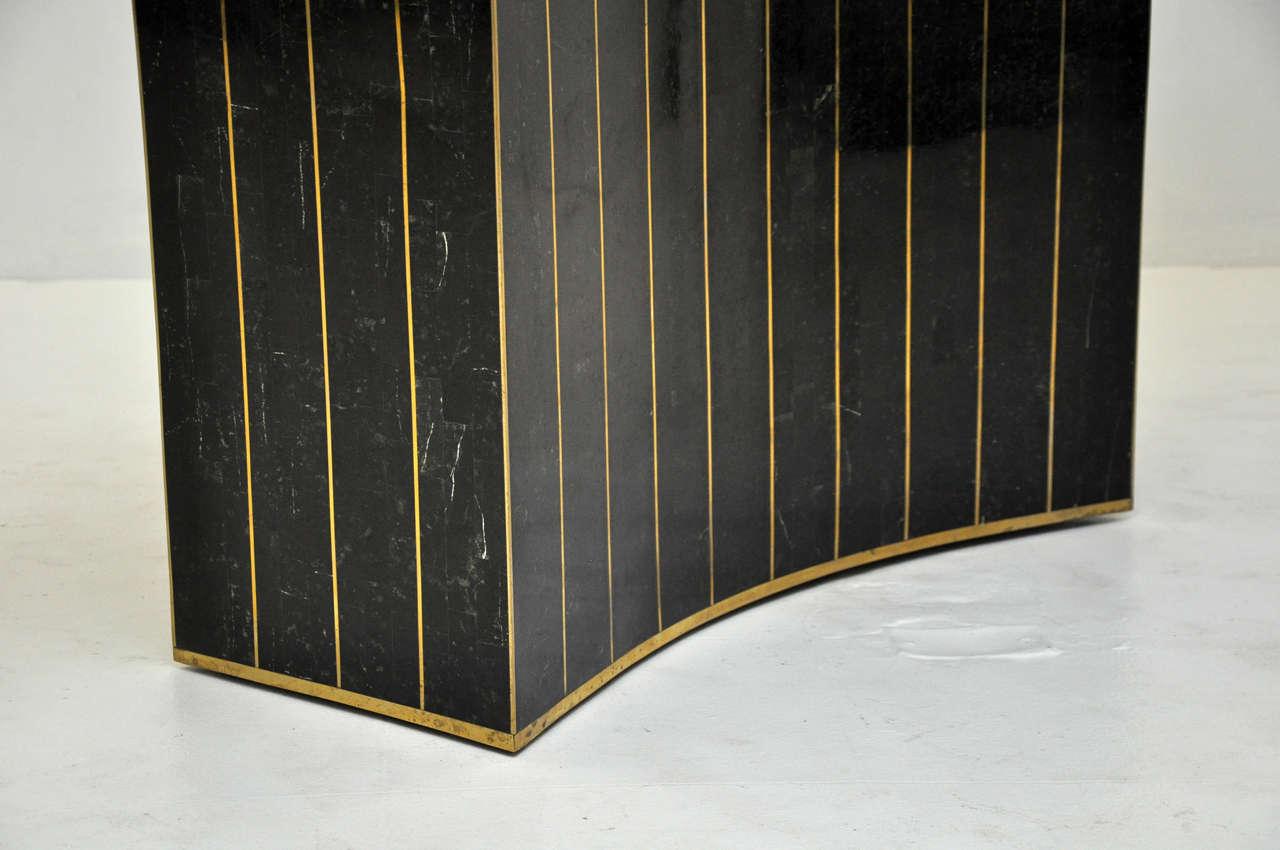 Maitland Smith Tessellated Stone Console 1
