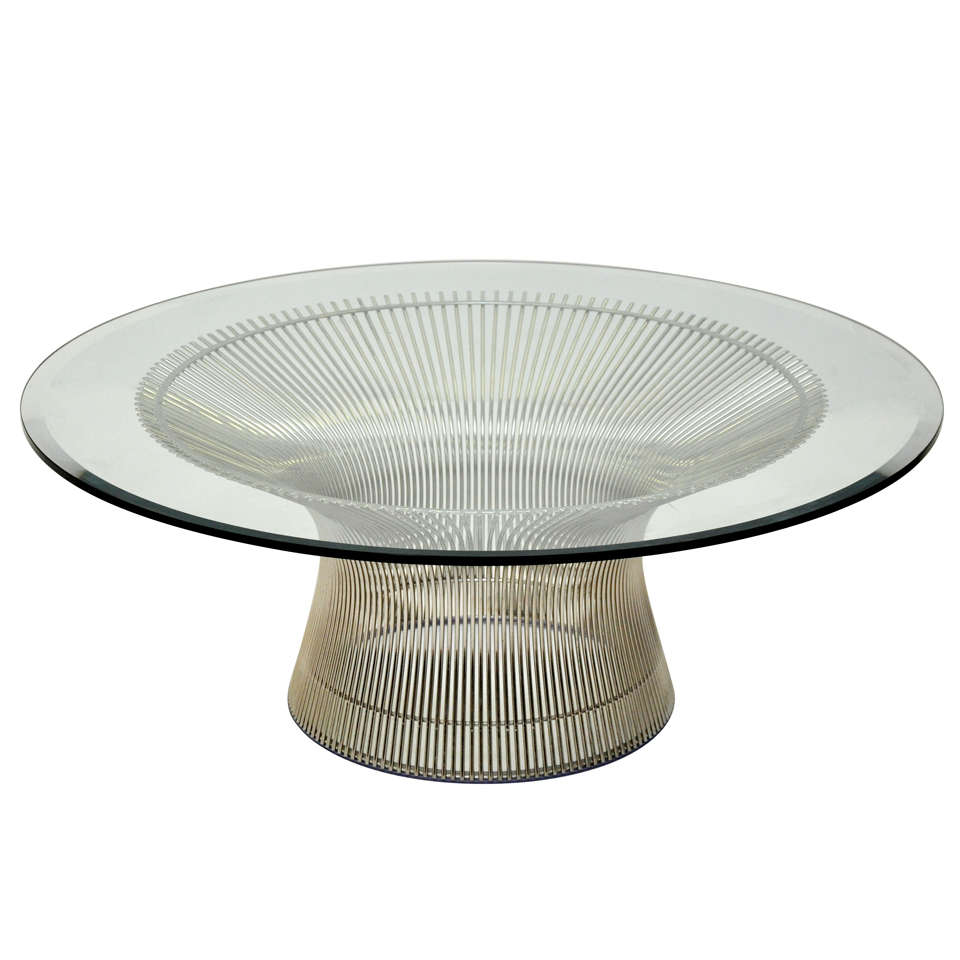 warren platner cocktail table at 1stdibs