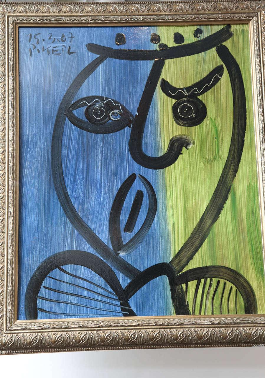 German Painting by Peter Keil