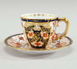 Royal Crown Derby Imari Tete a Tete on Matching Tray thumbnail 3