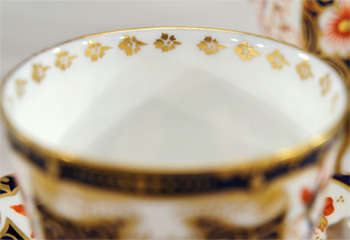 Royal Crown Derby Imari Tete a Tete on Matching Tray thumbnail 7