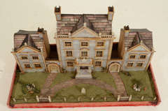 Victorian Mother-of-Pearl Model of a House, England,19th Century thumbnail 4