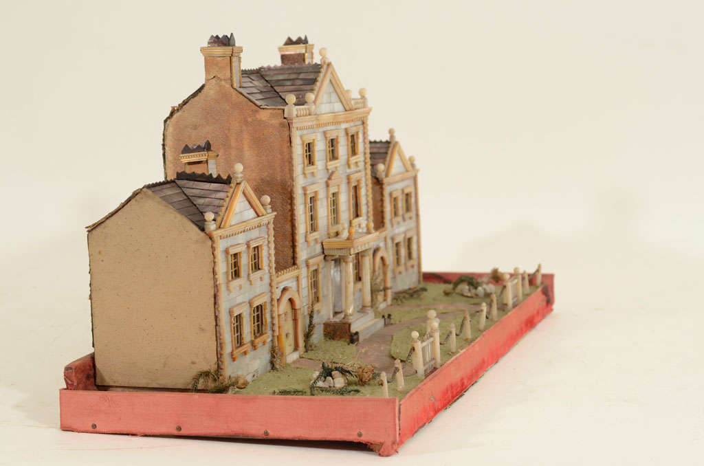 Victorian Mother-of-Pearl Model of a House, England,19th Century image 5