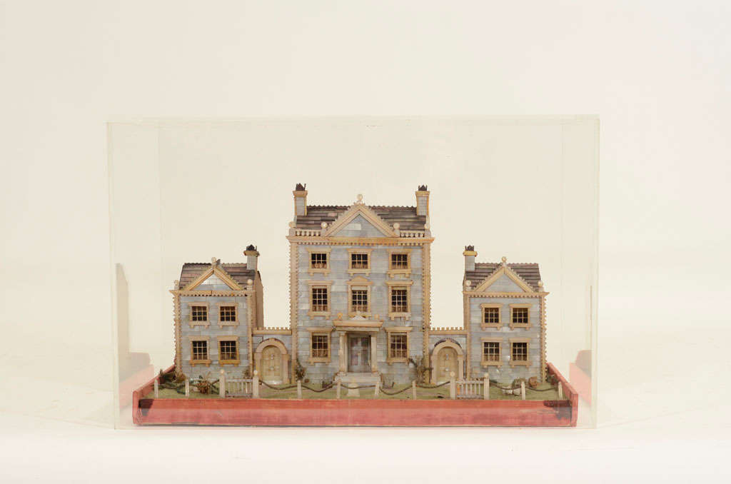Victorian Mother-of-Pearl Model of a House, England,19th Century image 8