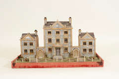 Victorian Mother-of-Pearl Model of a House, England,19th Century thumbnail 2