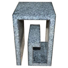 Pedestal in Resine by Marie-Claude de Fouquieres