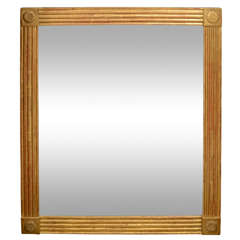 Giltwood Channel Mirror