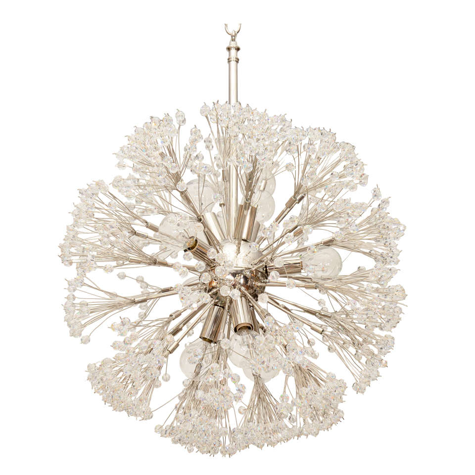 Sputnik chandelier at 1stdibs for Sputnik chandelier