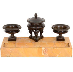 An English Regency Desk Stand