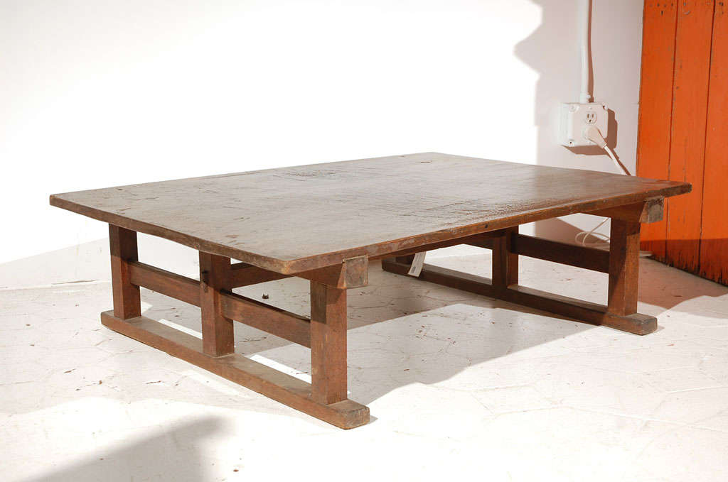 Mission Style Coffee Table At 1stdibs
