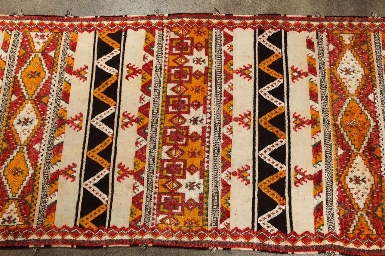 Moroccan Vintage Tribal Rug For Sale At 1stdibs