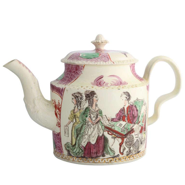 william greatbatch fortune teller teapot at 1stdibs. Black Bedroom Furniture Sets. Home Design Ideas