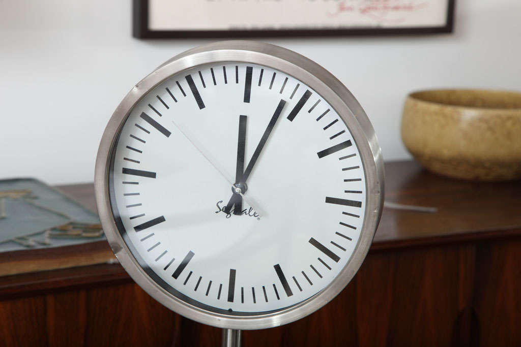 Clock Segnale Vintage Clock At 1stdibs